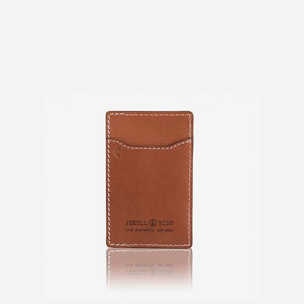 All Men's Wallets - Slim Upright Card Holder, Tan