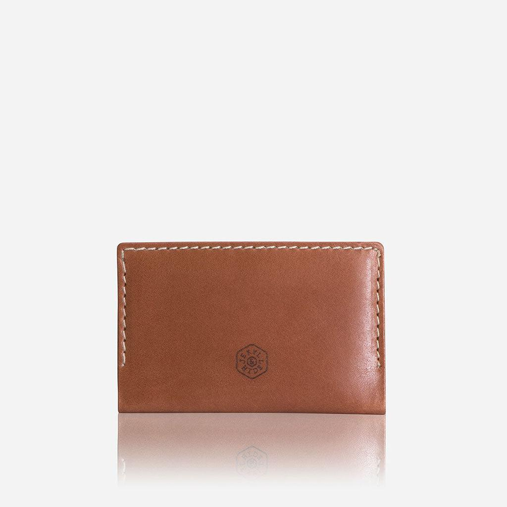 Money Clip Card Holder, Tan - Jekyll and Hide UK
