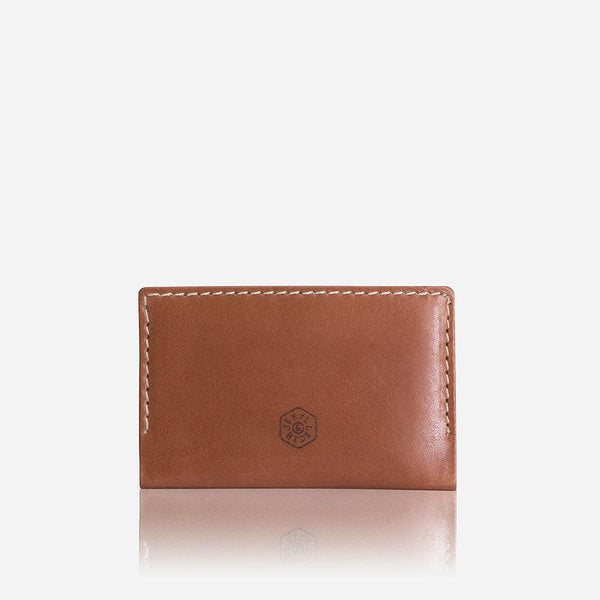 All Men's Wallets - Money Clip Card Holder, Tan