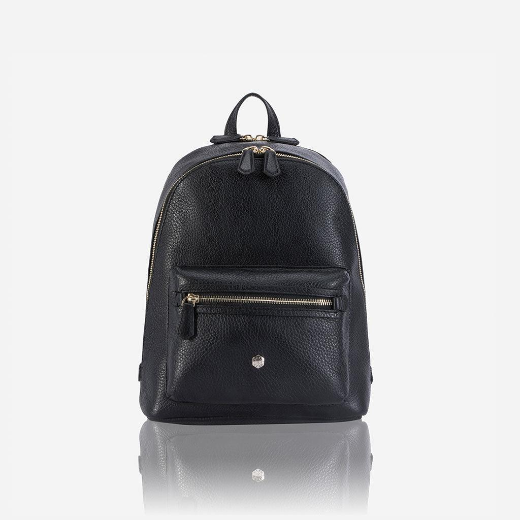 Classic Leather Backpack, Black - Jekyll and Hide UK