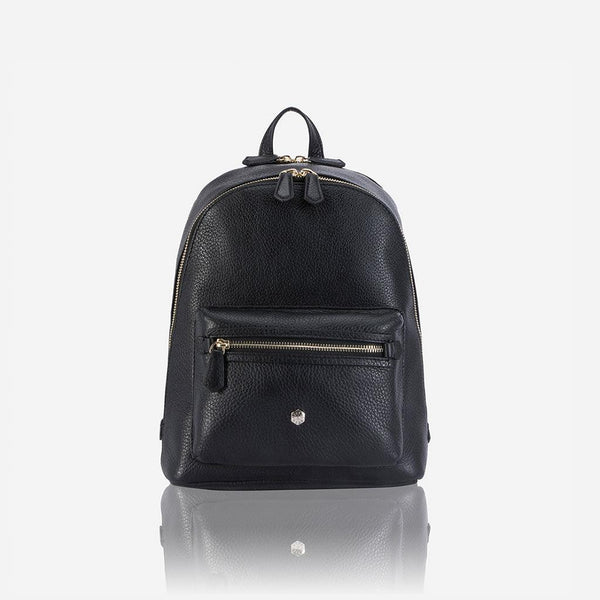Holiday Gift Guide - Classic Leather Backpack, Black