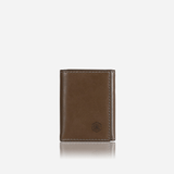 Tri Fold Card Holder, Olive - Jekyll and Hide UK