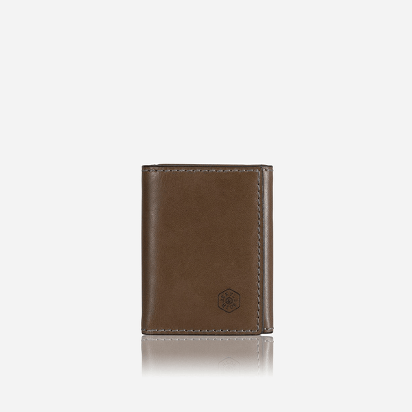 GIFTS UNDER £50 - Tri Fold Card Holder, Olive