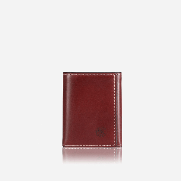 Men's Sale - Tri Fold Card Holder, Red