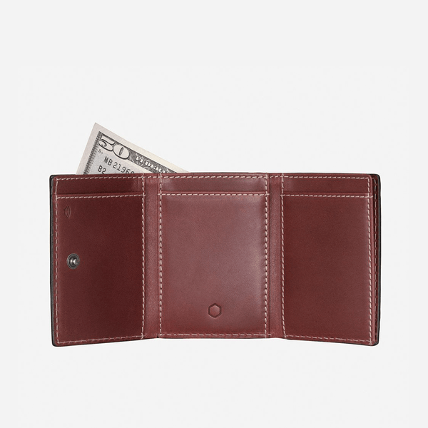GIFTS UNDER £50 - Tri Fold Card Holder, Red