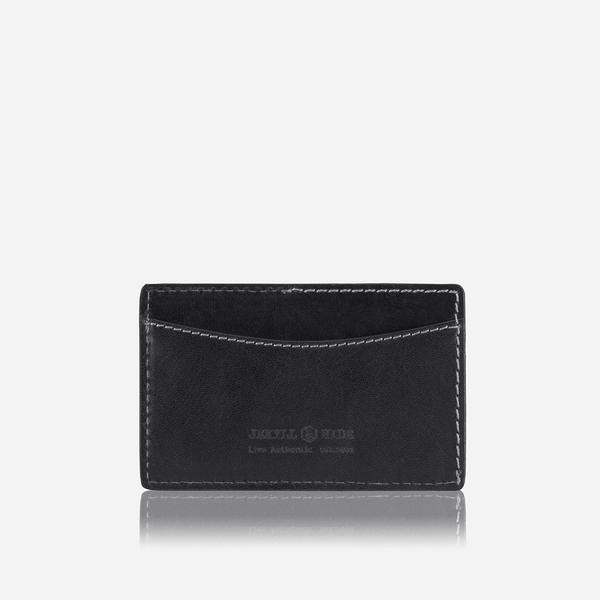 GIFTS UNDER £50 - Upright Slim Card Holder, Black