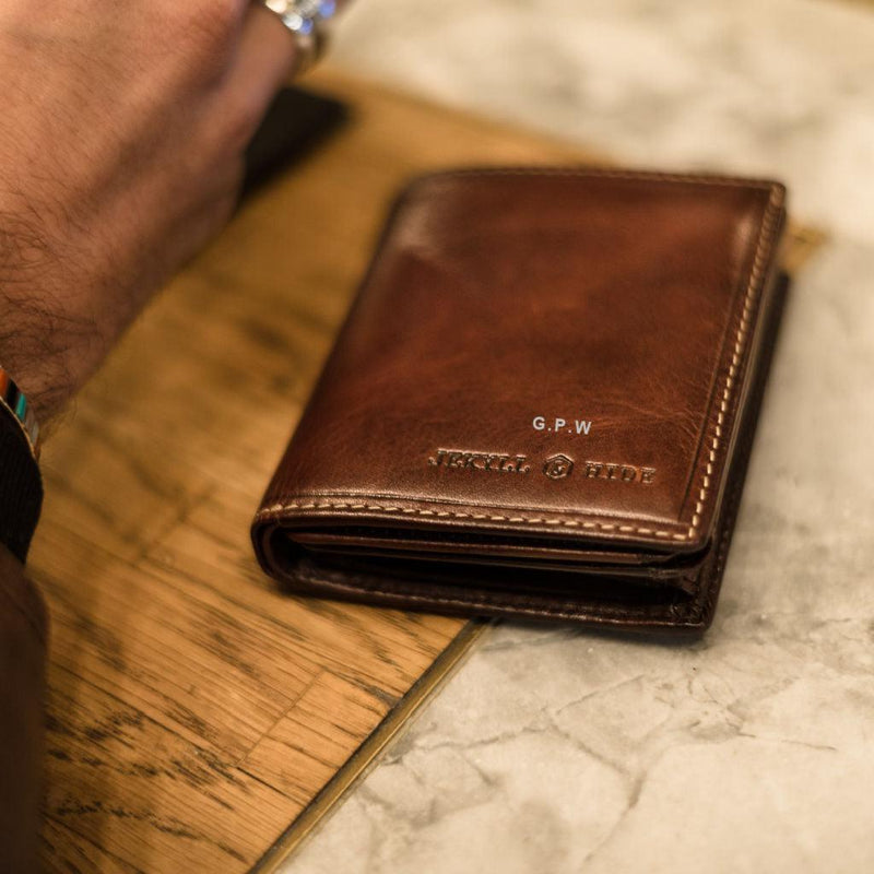 Large Bifold Wallet With ID Window