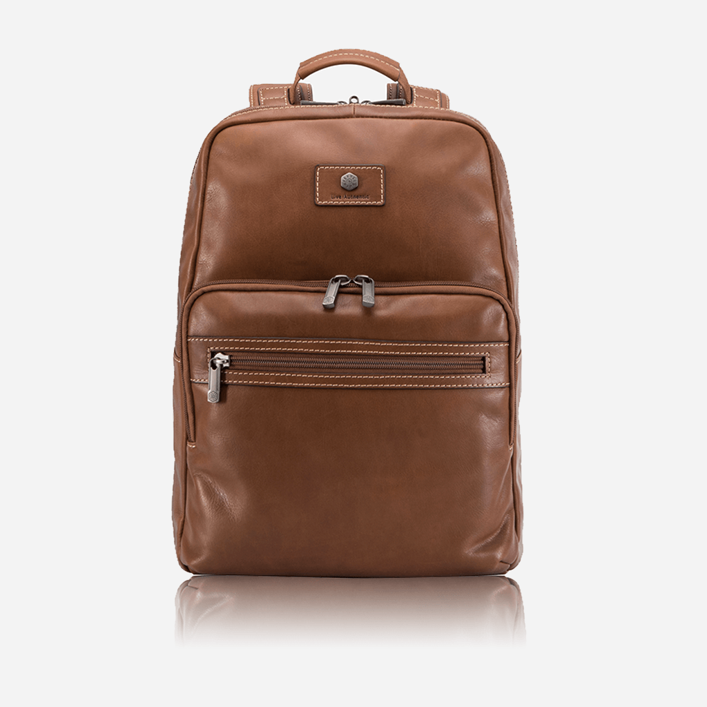 Compact Laptop Backpack 42cm, Colt - Jekyll and Hide UK