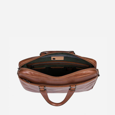 Slim Laptop Briefcase, Colt - Jekyll and Hide UK