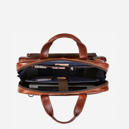 Large Multi Compartment Briefcase