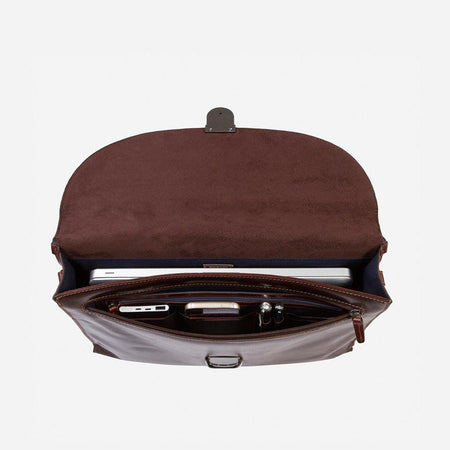 Extra Slim Business Briefcase - Jekyll and Hide UK