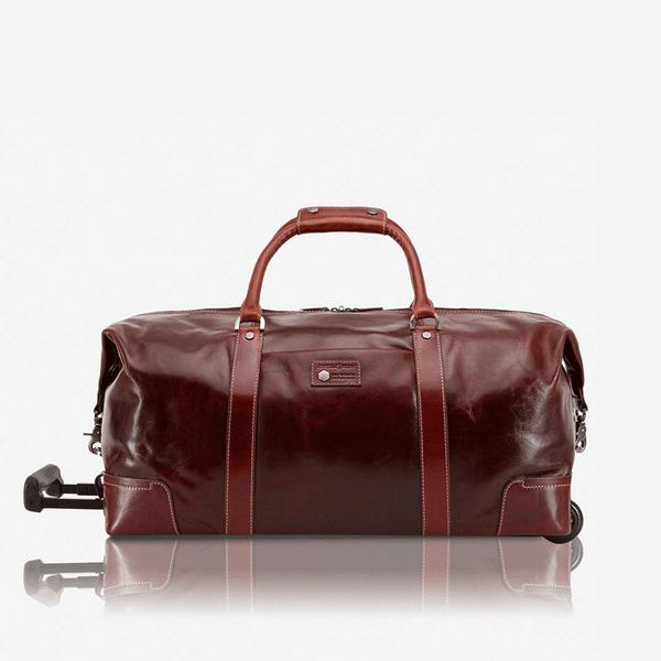 Business Traveller - Cabin Wheeled Holdall 55cm, Tobacco