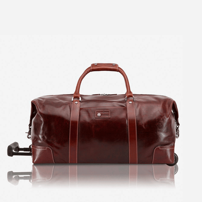 Cabin Wheeled Holdall 55cm, Tobacco - Jekyll and Hide UK