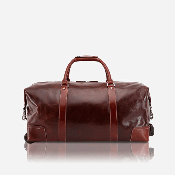 All Mens bags - Cabin Wheeled Holdall 55cm, Tobacco