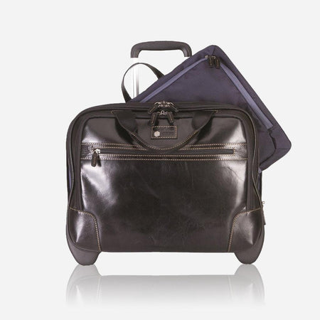 Mobile Cabin Office Bag 44cm, Black - Jekyll and Hide UK