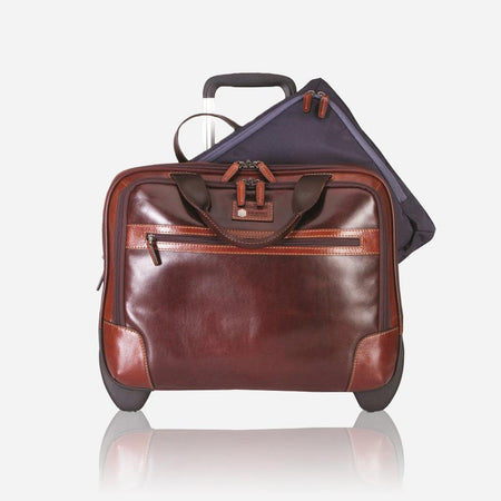Mobile Cabin Office Bag 44cm, Tobacco - Jekyll and Hide UK