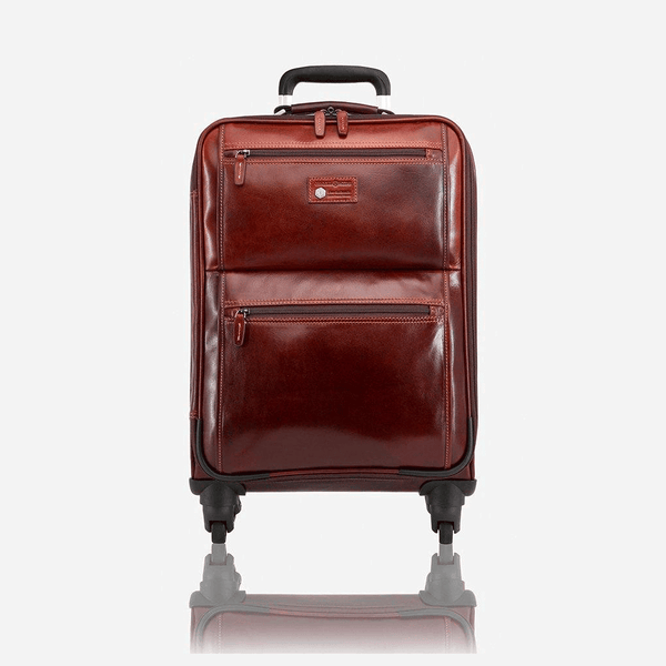 All Mens bags - 4 Wheel Cabin Trolley 50cm, Tobacco