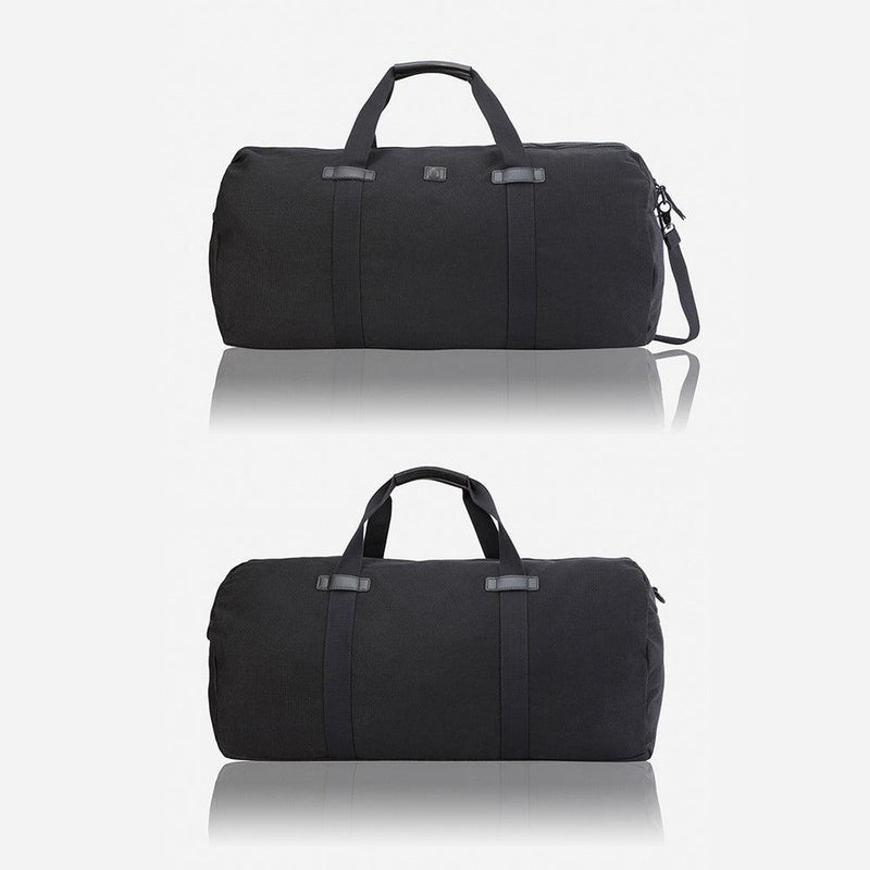Large Casual Holdall 65cm, Black - Jekyll and Hide UK