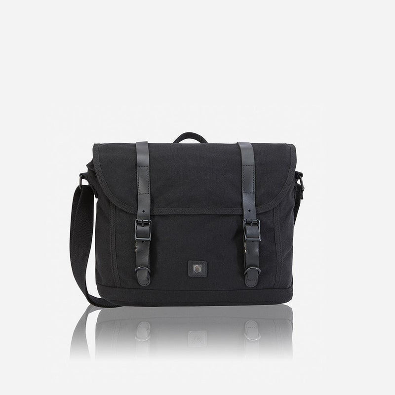 Casual Messenger, Black - Jekyll and Hide UK