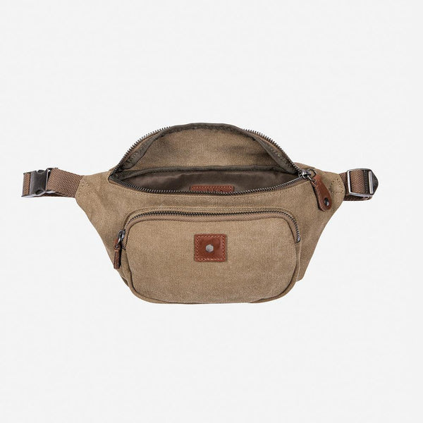 Women's Sale - Casual Waist Bag, Khaki