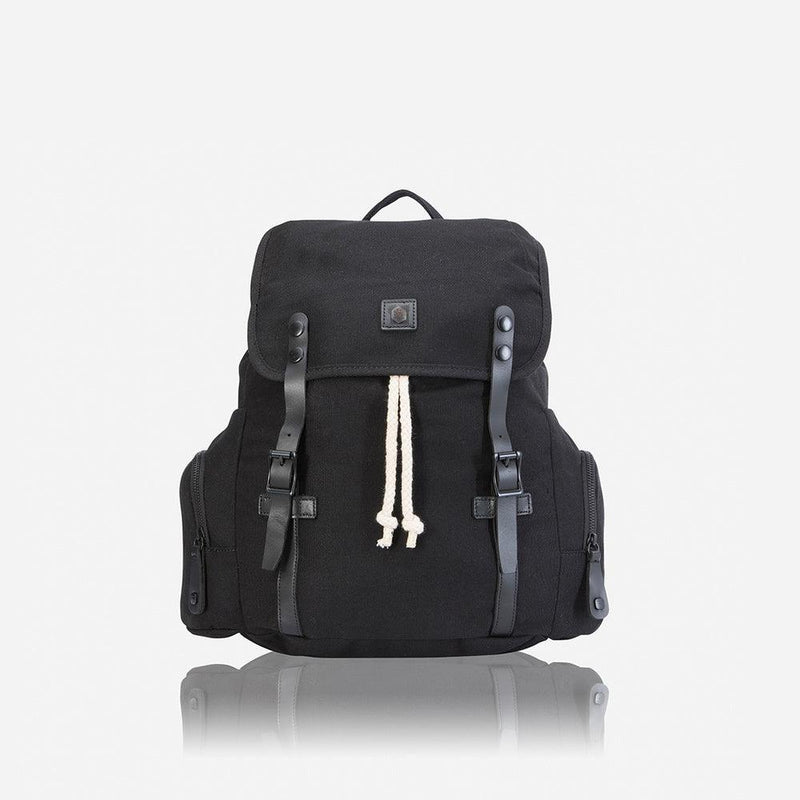 Casual Backpack 43cm, Black - Jekyll and Hide UK