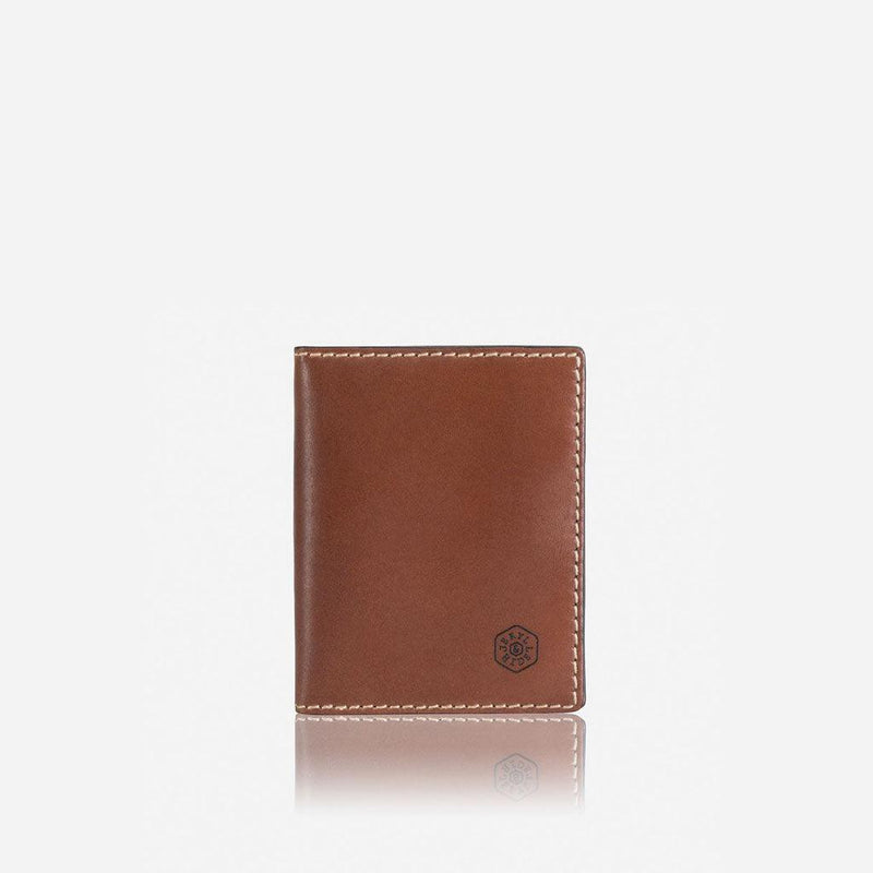 Slim Bifold Card Holder, Clay - Jekyll and Hide UK
