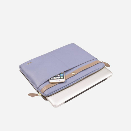 Ladies Laptop Folder, Blue