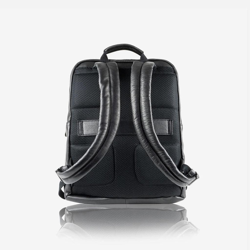 Compact Backpack 38cm, Matt Black - Jekyll and Hide UK