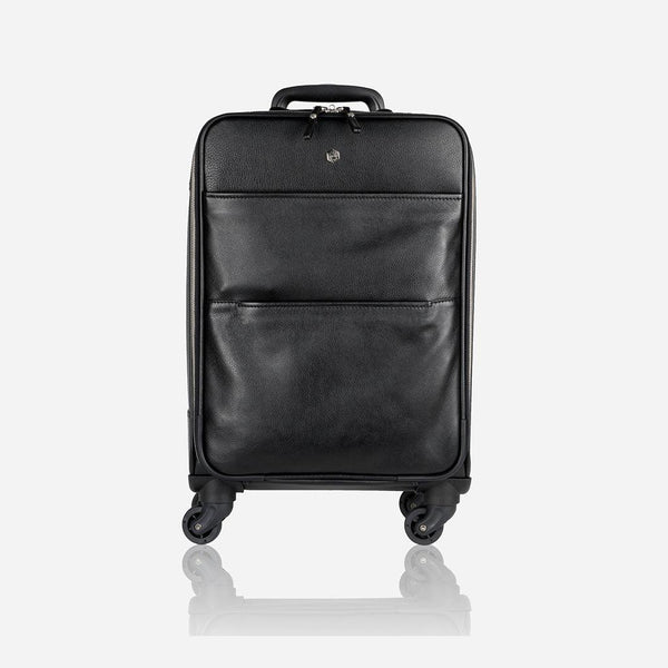 Black Friday Men's Collections - 4 Wheel Cabin Trolley 50cm, Matt Black