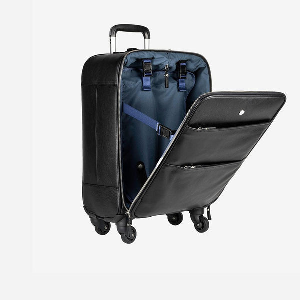 Business Traveller - 4 Wheel Cabin Trolley 50cm, Matt Black