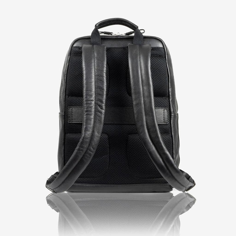Laptop Backpack 40cm, Matt Black - Jekyll and Hide UK