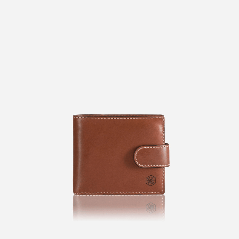 Large Bifold Wallet With Coin , Clay - Jekyll and Hide UK