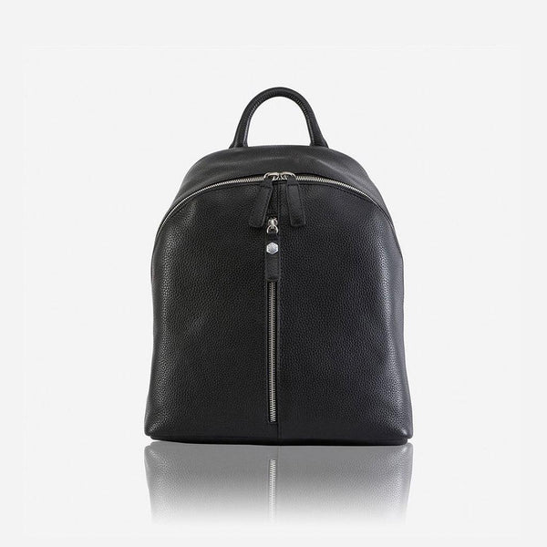 Holiday Gift Guide - Casual Ladies Zip-Top Backpack 35cm, Black