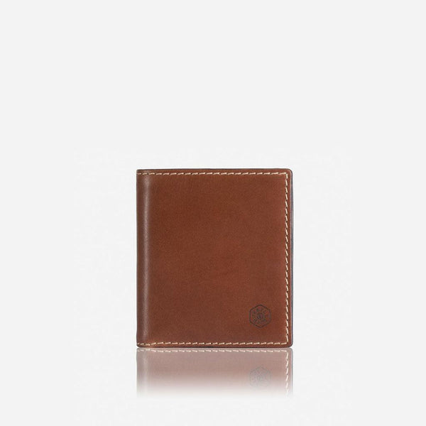 All Men's Wallets - Slim Bifold Wallet With Coin, Clay