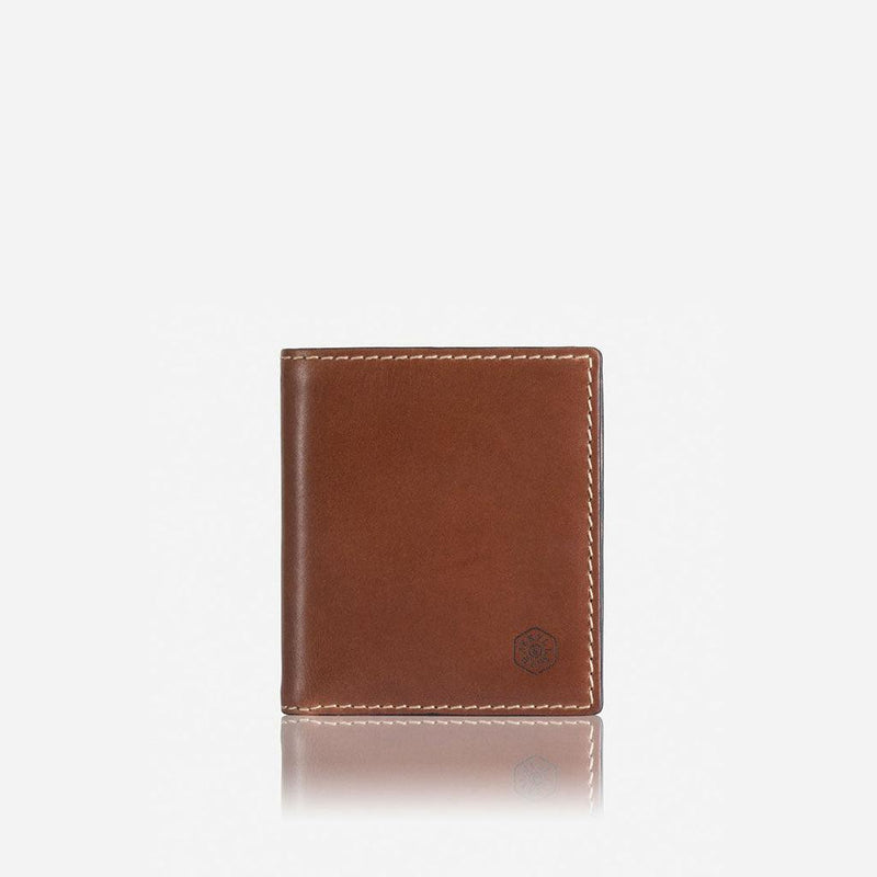 Slim Bifold Wallet With Coin, Clay - Jekyll and Hide UK