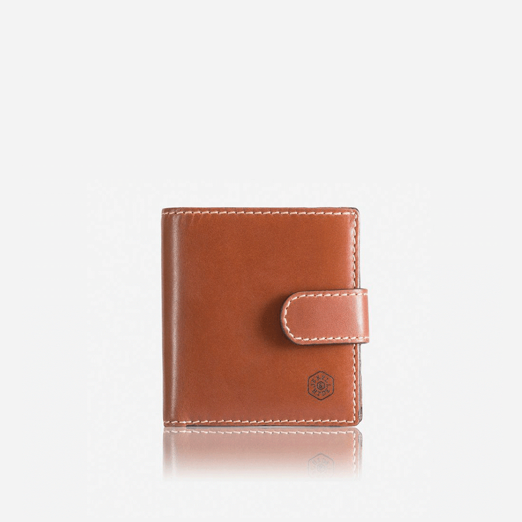 Tri Fold Wallet With Coin And Tab, Clay - Jekyll and Hide UK