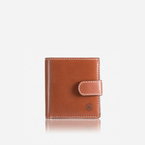 All Men's Wallets - Tri Fold Wallet With Coin And Tab, Clay