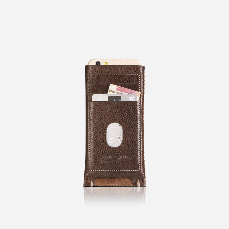 Large Slip-in Card & Cash Phone Wallet - Jekyll and Hide UK