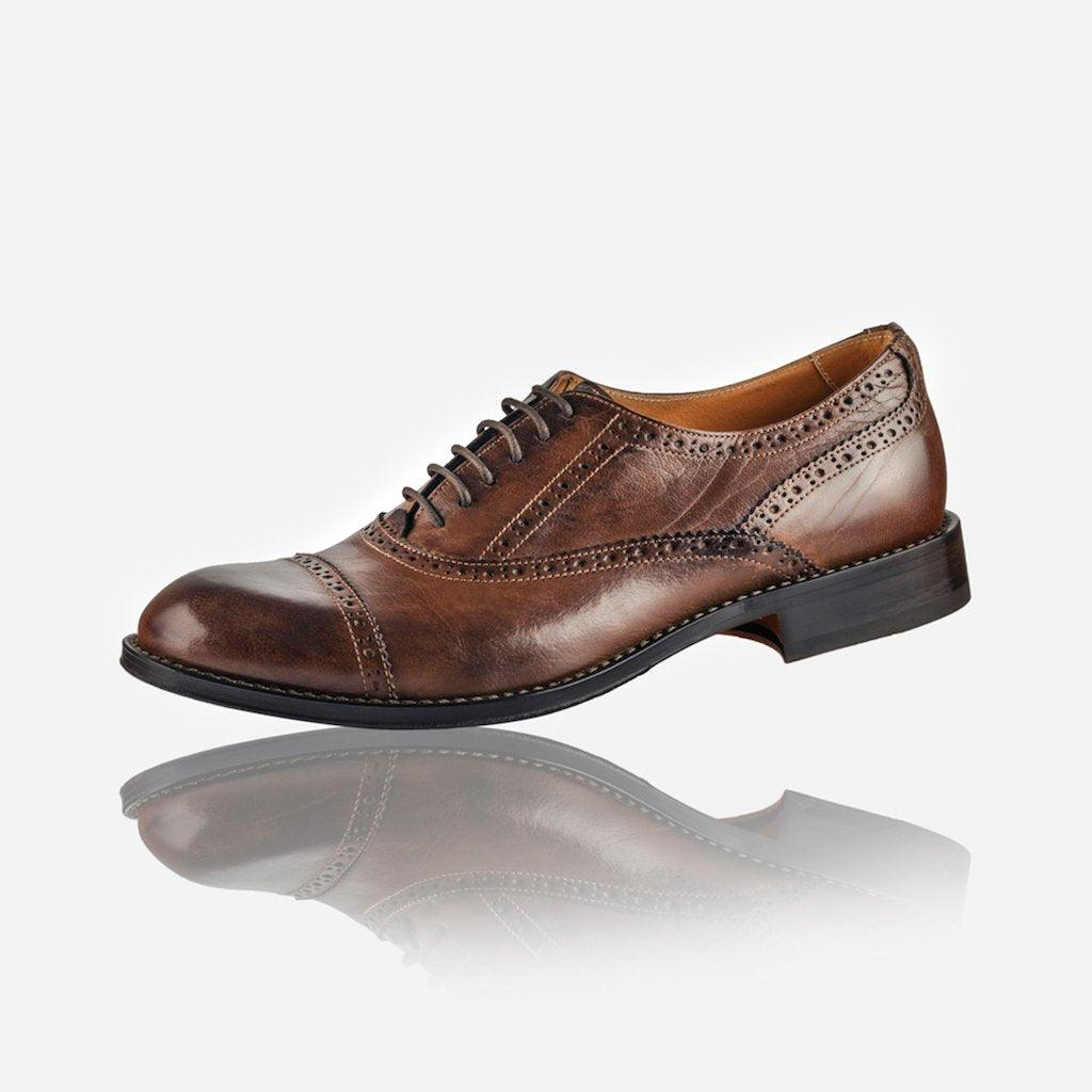 Men's Leather Brogue, Brown