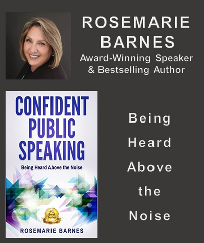 CONFIDENT PUBLIC SPEAKING by ROSEMARIE BARNES (E-Book)