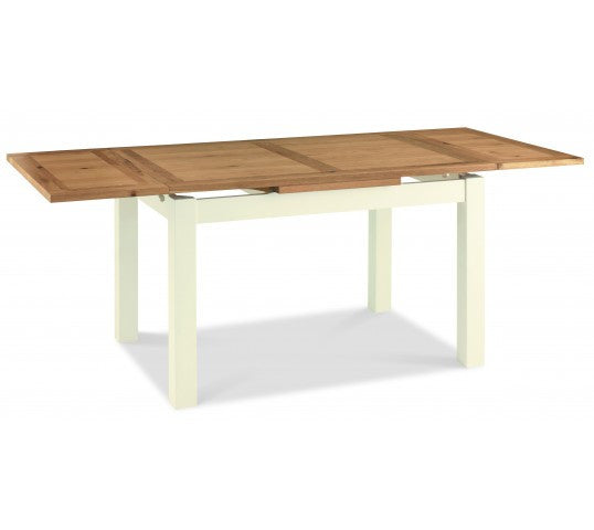 Libra Two Tone 4 6 Extending Dining Table Ideal