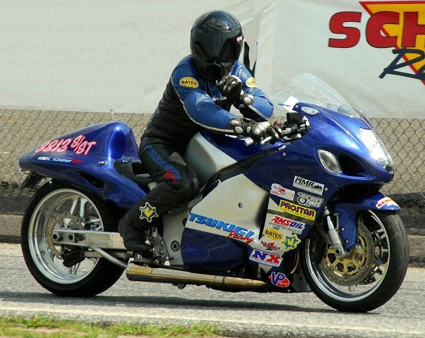 Suzuki Hayabusa Sidewinder Exhaust System, by Tsukigi Racing, fits all
