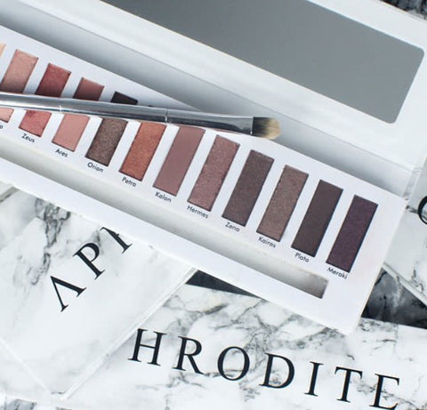 The Aphrodite eyeshadow palette now on sale!
