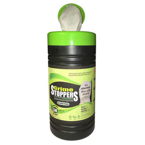 Grime STOPPERS® Heavy Duty Hand Wipes 50 Count Canister