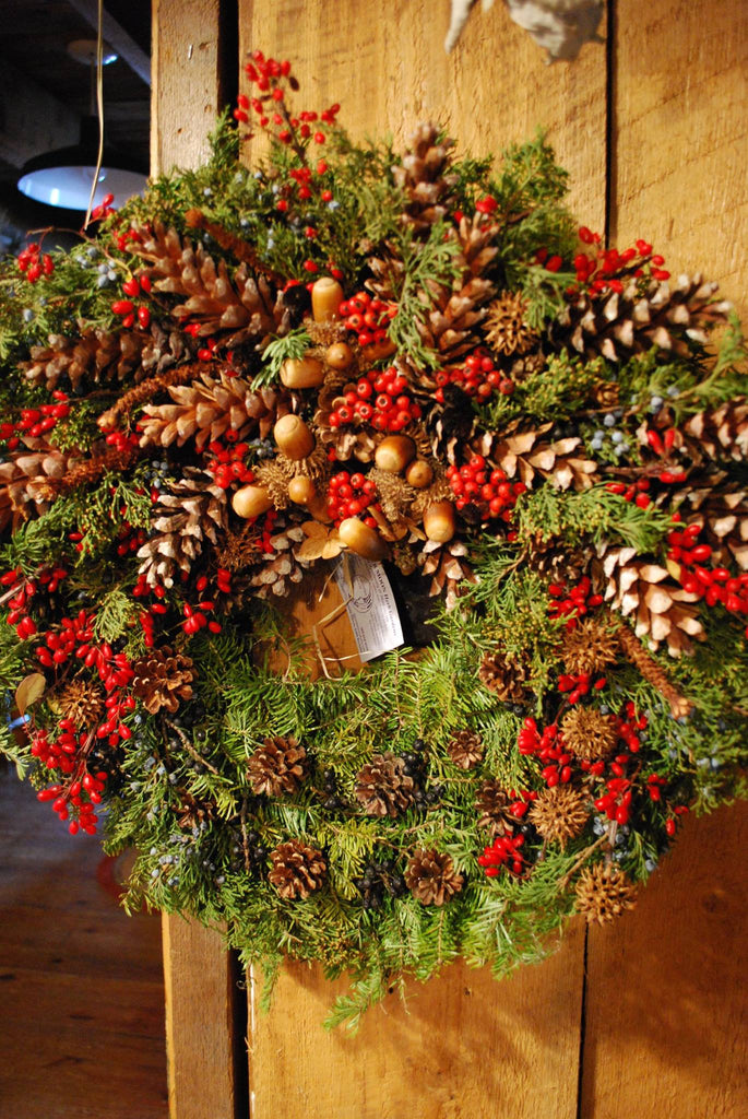 All Natural Holiday Wreaths