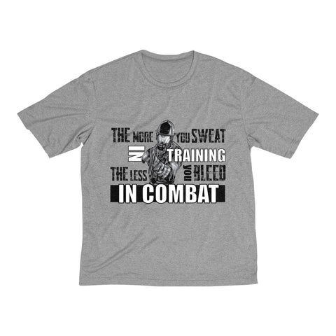 """Combat"" Men's Heather Dri-Fit Tee"