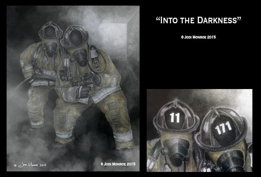Into the Darkness Personalized