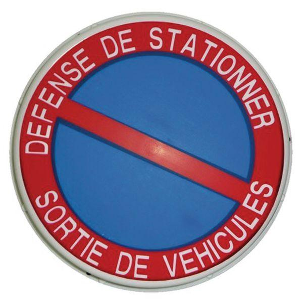 DEFENSE DE STATIONNER (NO PARKING) SIGN - A CLASSIC SIGN
