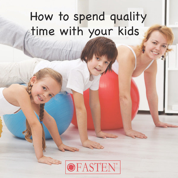 Spending Quality Time With Your Kids