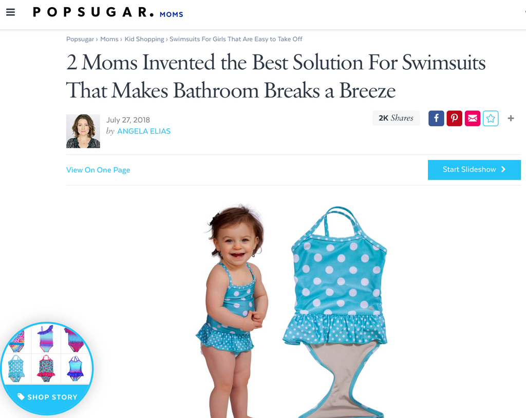 2 Moms Invented the Best Solution For Swimsuits That Makes Bathroom Breaks a Breeze - POPSUGAR
